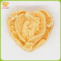 Handmade Soap Mold Soap Mold Soap Based Silicone Mold Cake Mousse Mold Heart Shaped Mother And