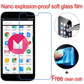 Never broken Nano Explosion-proof Soft Glass Clear Screen Protector Protective Lcd Film For Vernee Thor