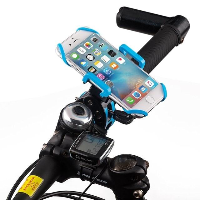 Мода Велосипед Держатель Телефона Телефон Стенд Поддержка для iPhone Универсальный Велосипедов GPS Moto Держатель Soporte Movil Bicicleta