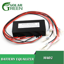 Fuente de alimentación HA02, baterías, ecualizador de voltaje, equilibrador, batería de plomo y ácido conectada, serie paralela 2, 3,2, 3,7, 6, 12, 24, 48, 96, 120 V