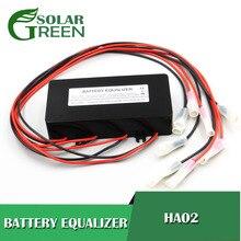 Güç kaynağı HA02 akü voltaj ekolayzır dengeleyici kurşun asit batarya bağlı paralel serisi 2 3.2 3.7 6 12 24 48 96 120 V
