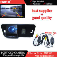 Free Shipping Wireless SONY CCD Car Rear View Parking Back Up Kit CAMERA For BMW 1