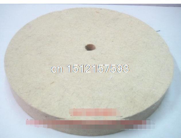 1pc 150mm Felt Wool Buffing Polishing Wheels Pads Polisher Size 150mm(OD)*30mm(TH)*10mm(ID)