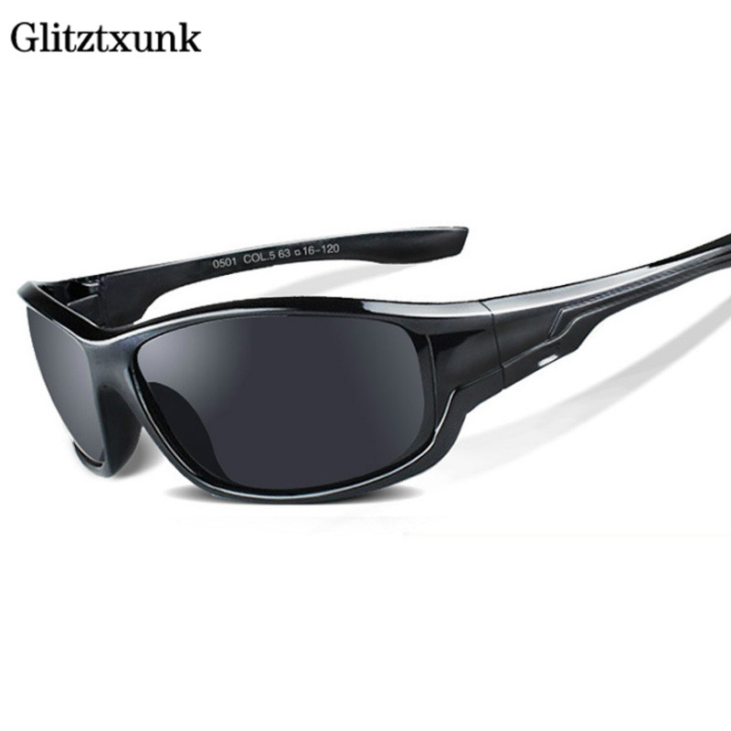 476b7f97730 Glitztxunk Polarized Sunglasses 2018 New Men Top Quality Sun Glasses for Men  Brand Designer Luxury UV400