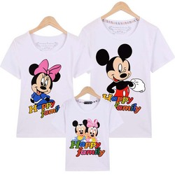 2017 summer family matching outfits mickey short sleeved t shirt family mother and daughter clothes father.jpg 250x250