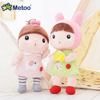 31 cm Metoo leuke kawaii kids knuffels voor kinderen zachte knuffel mooie ontwerp voor meisjes gift cartoon Humanoid poppen