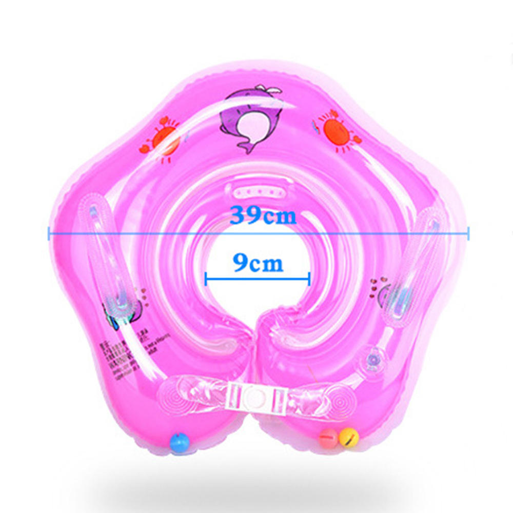 0 4 Years Infant Ring Inflatable Double Protection Baby Float Ring Leakproof Adjustable Summer Water Toy Swimming Accessories in Baby amp Kids 39 Floats from Toys amp Hobbies