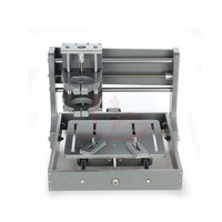 Cheapest DIY mini cnc machine frame without motor Working area:200*200*70mm require NEMA17 Stepper motor