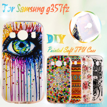 Soft TPU Phone Cover Cases For Samsung Galaxy Ace 4 LTE G357FZ Ace 4 Style LTE G357 SM-G357FZ Case Silicone TPU Phone Case