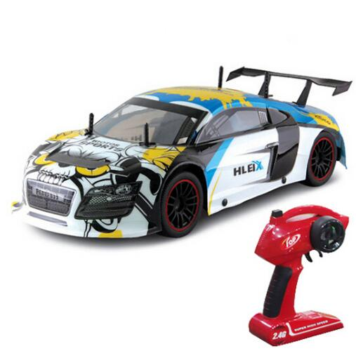 RC Car For Super Hleix GT 2 4G 1 10 Racing Drift High Speed Champion Team