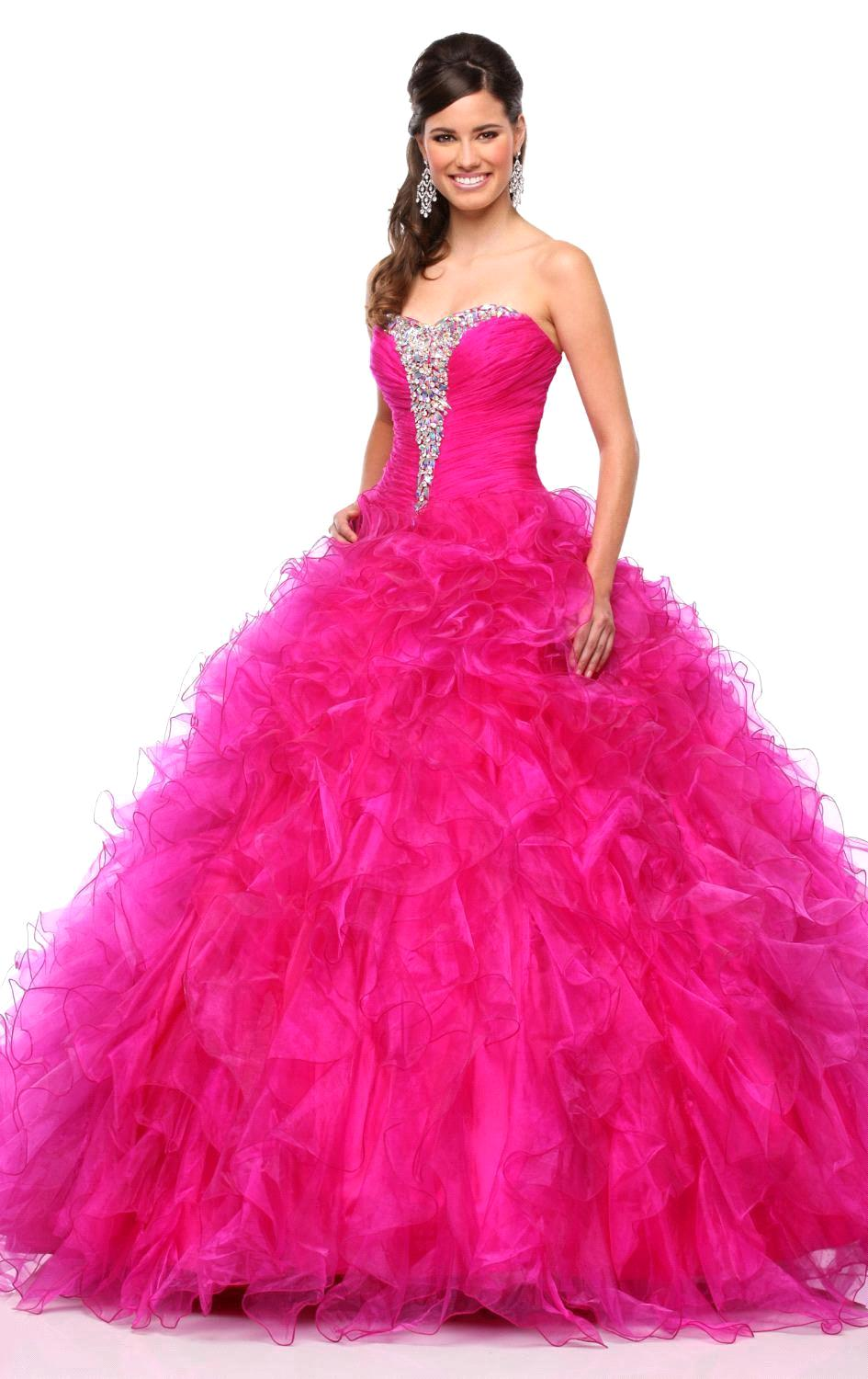 Hot Pink Sweet 16 Dresses Promotion-Shop for Promotional Hot Pink ...