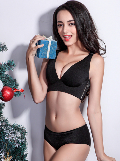 Full cup, 3/4 cup bra sexy solid color without constant, sweet woman thin vest bra 5 colors, free home delivery