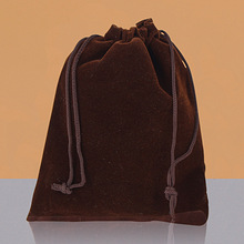 100 pcs/Lot 7x9cm Jewelry Packing Velvet bag,Velvet Drawstring bags & Pouches Brace Strap Pouches
