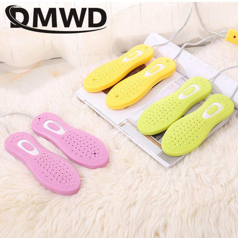 DMWD High Quality Shoe Dryer for Shoe Feet Deodorant UV Shoes Sterilization Telescopic Section Drying Heater Warmers dmwd electric shoes dryer deodorant uv shoes sterilization device high quality bake shoe dryer shoes feet drying heater warmer