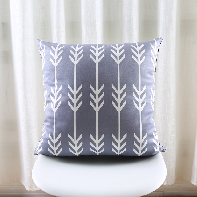 Gray Patterns Decorative Cushion Covers – Velvet