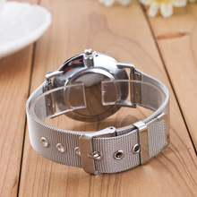 Dropship 2018 Famous Brand Gold Silver Casual Quartz Watch Women Mesh Stainless Steel Dress Women Watches Relogio Feminino Clock