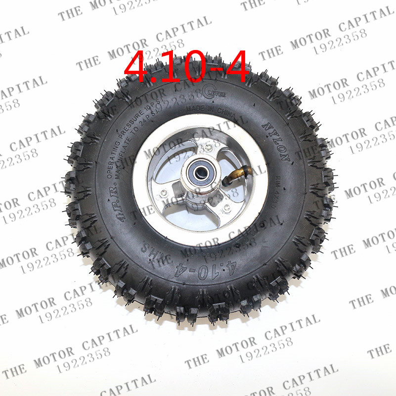 high quality 4.10 4 tires wheels 4 inch hub Rim with tyre