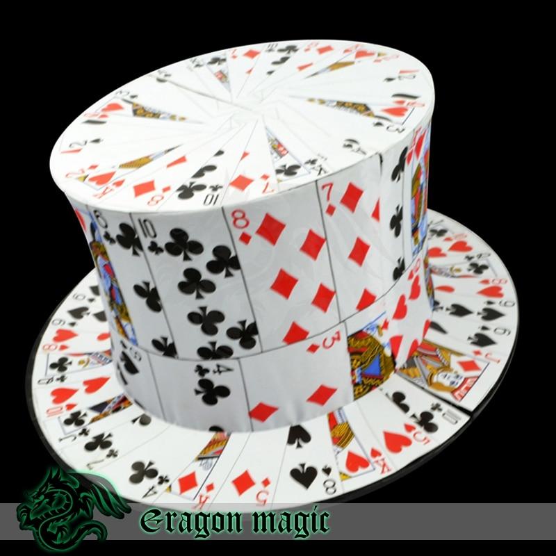 Tarjeta para sombrero juguetes etapa Trucos de magia Magie juguetes al por menor y al por mayor - 5