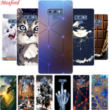 Popular Case For Samsung Galaxy Note 9 Case 6.4 Silicone Soft TPU Back Cover For Samsung Galaxy Note 9 Note9 Case Coque Funda x pattern protective tpu back case for samsung galaxy note ii n7100 white