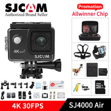 SJCAM SJ4000 AIR 4k WIFI Action Camera 1080P Full HD 4K 30fps WiFi Sport DV Mini camcorder pro yi 4k cam VS h9r sj8 sj6 camara(China)