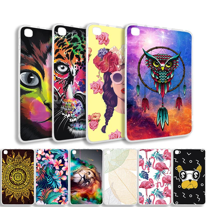 Painted Tablet Case for For <font><b>Amazon</b></font> Fire HD 10 7 8 8.9 Case Silicone HD10 HD7 HD8 2015 2017 HDX8.9 Paperwhite 1 2 3 Soft TPU Bags image