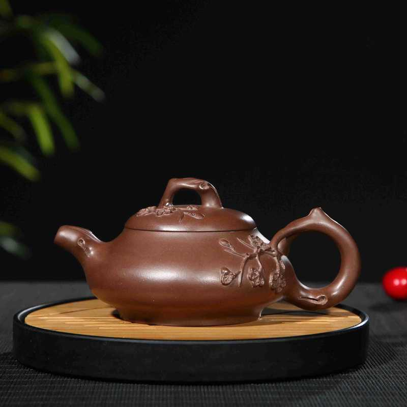 Personnalisation en gros Yixing Original Mine révolution culturelle boue décoration Matsumoto bambou prune théière thé articles