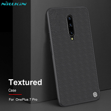 Oneplus 7 Pro Case Nillkin Textured Luxury Business Nylon Fiber Cover Case For Oneplus 7 Pro Bumper Thin Durable Non-Slip