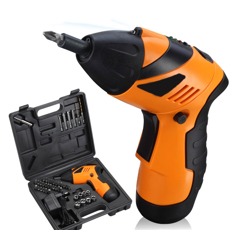 4.8V Electric Screwdriver Multi function Rechargeable Electric Drill Multi model Electric Screwdriver Set 45 In 1