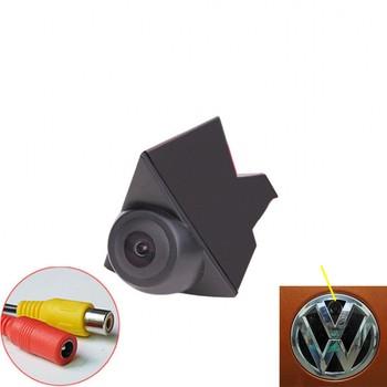 JanDeNing Car Vehicle Front View Logo Embeded Camera for Volkswagen Waterproof Wide Degree