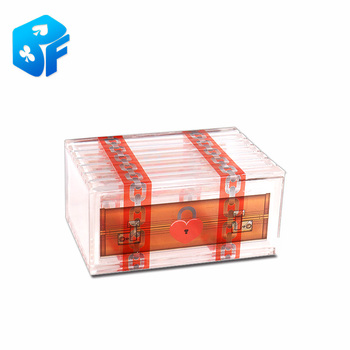 Free shipping 25pcs magic plastic crystal box transparent capsule magic tricks for magic toy wholesale фото