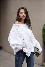 Autumn Winter Pullovers Sweater Women jumper harajuku oversized Loose Knitted Sweater Plus Size White Korean Style fall Clothes jd коллекция вождение blue дефолт