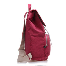 fccdc53eb3bb ... Preppy Style Women Backpack Waterproof Nylon Backpack 10 Colors Lady Women s  Backpacks Female Casual Travel Bag ...