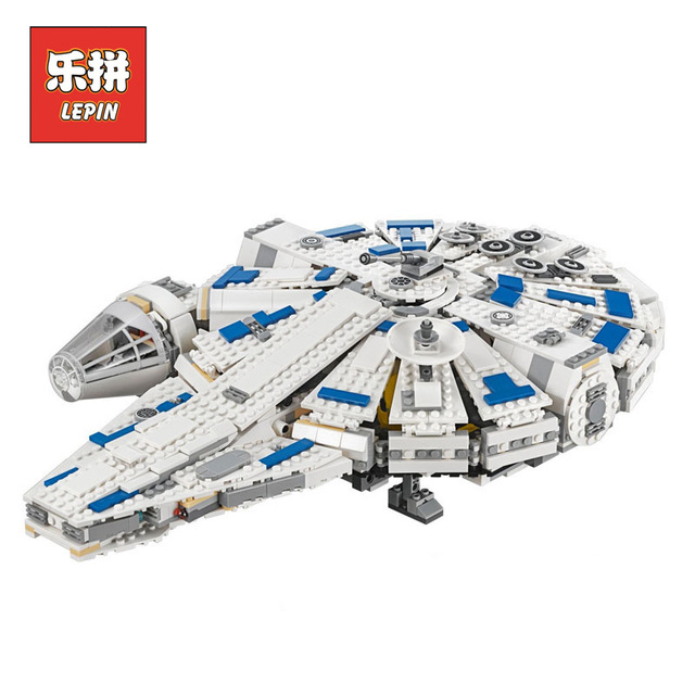 DHL LEPIN StarWars Series 05142 Building Blocks Force Awakens Millennium Legoing 75212 Toys Falcon Model Kids Toy Christmas Gift dhl lepin 05142 star building blocks force toy awakens millennium kids toys falcon model legoings 75212 birthday christmas gifts