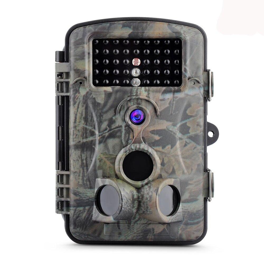 12MP 1080P HD Game Trail Hunting Camera IP54 Waterproof Infrared Night Vision 42pcs IR LEDs Scouting