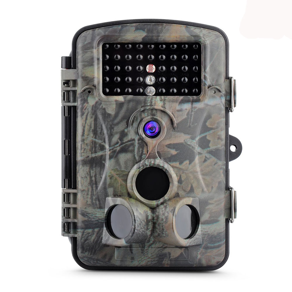 12MP 1080P HD Game Trail Hunting Camera IP54 Waterproof Infrared Night Vision 42pcs IR LEDs Scouting Camera