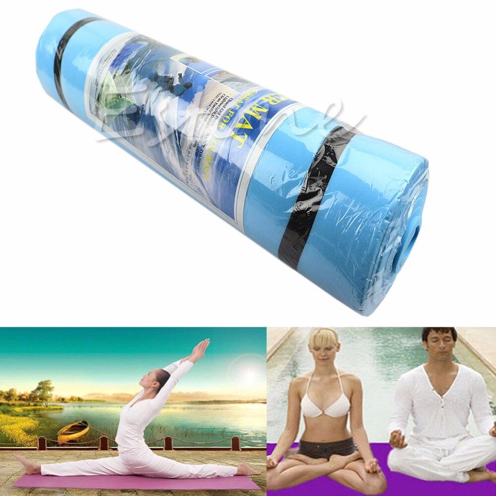 Soft Dampproof Eco-friendly Sleeping Mattress Mat Exercise EVA Foam Yoga Pad соня eco tropicana foam 90x190x19