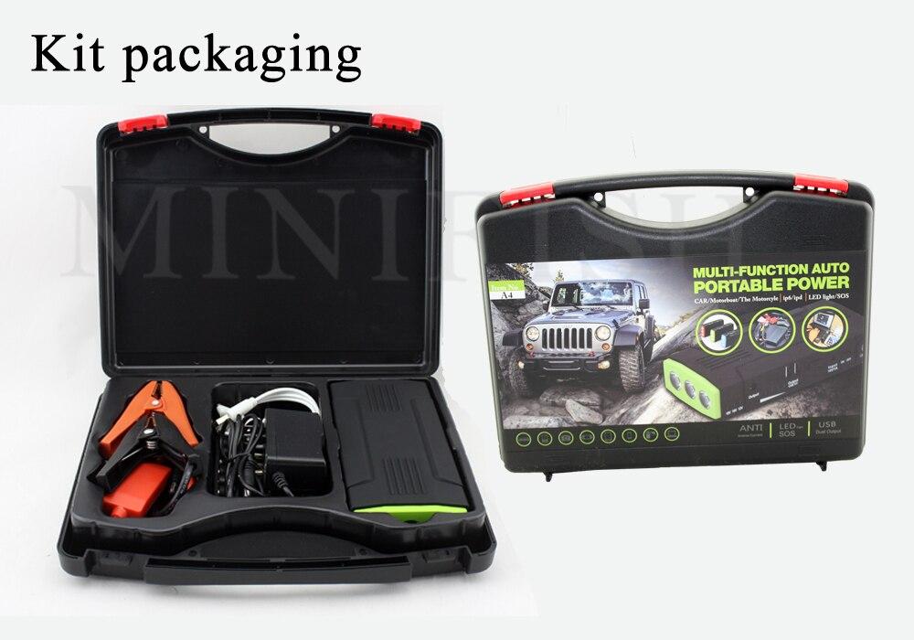 Portable Multifonction 600A AUTO Démarrage D'urgence chargeur de batterie Moteur Booster batterie externe Démarreur Voiture De Saut Pour 12 V bloc-pile - 6