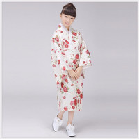 New Fashion Japanese Baby Girl Kimono Dress Cute Kid Yukata With Obi School Girl Dance Costumes Child Cosplay Dress