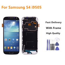 5.0 LCD For Samsung S4 Display Touch Screen With Frame GT-i9505 i9500 Galaxy Screen+Tools