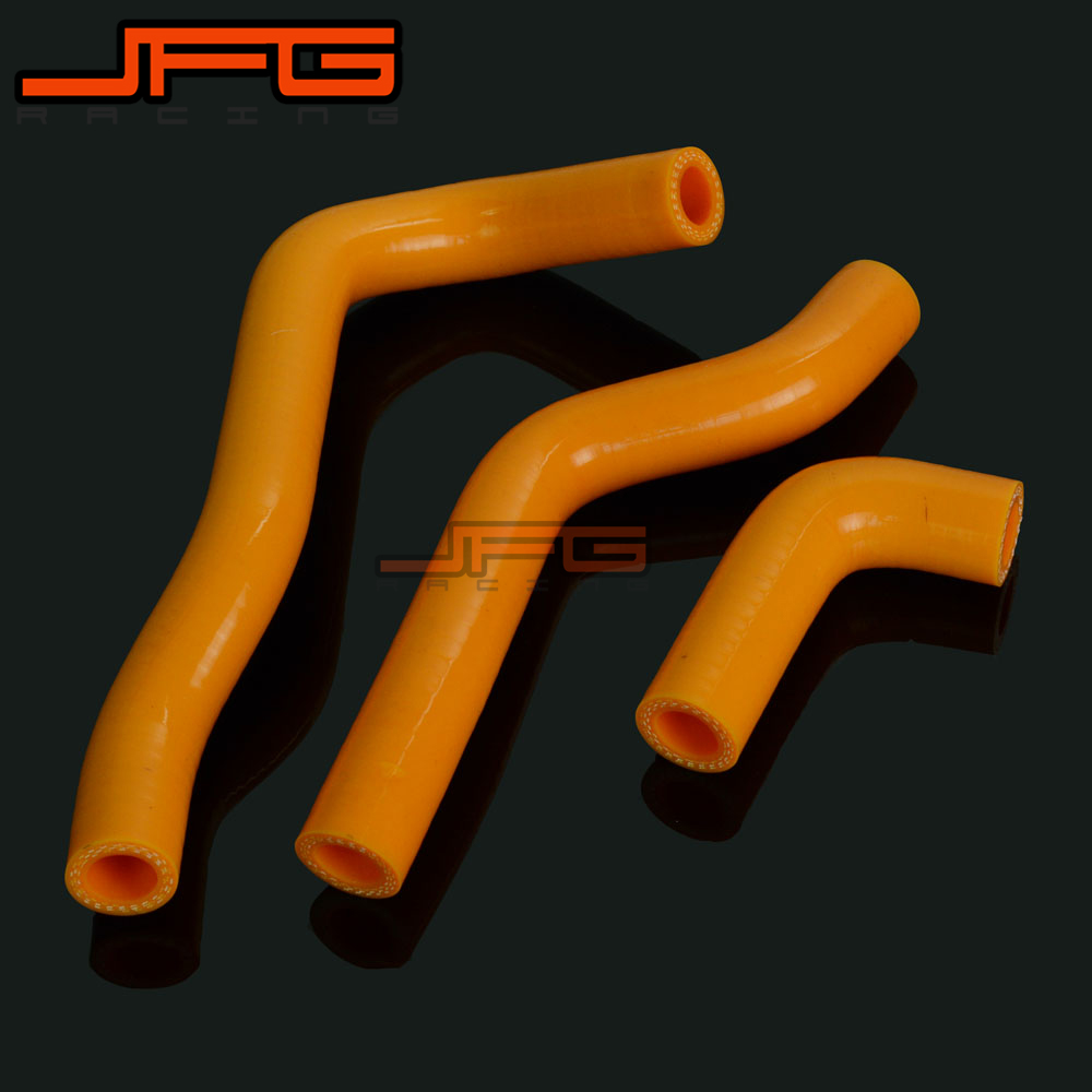 Silicone Radiator Coolant Hose For Yamaha YZ450F WR450F 2003-2009 MX Enduro SM