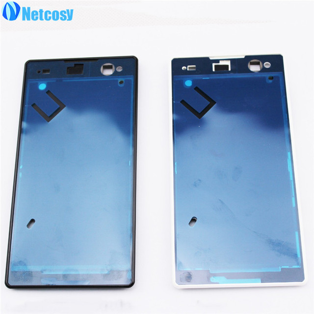 Netcosy Newest Middle Housing Frame Bezel Cover Case Front LCD Board For Sony Xperia C3 S55t Replacement Parts Repair Part