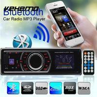 Car Radio Stereo Audio MP3 Player 12V In Dash FM Receiver Aux Receiver USB SD Remote