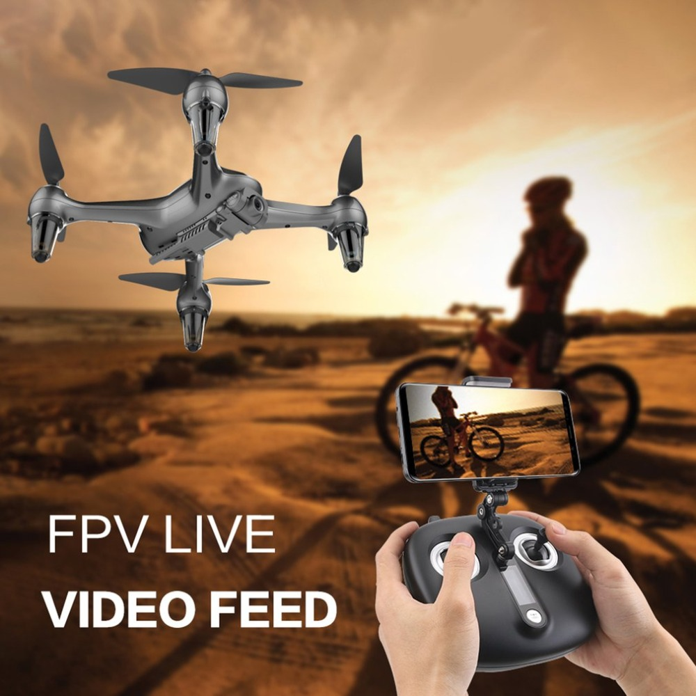 SMRC ICAT2 RC Drone with Camera HD 1080P WIFI FPV Selfie Drone 2.4G GPS Intelligent Precise Positioning Professional Quadcopter