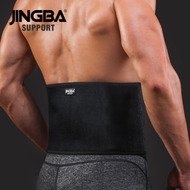 JINGBA SUPPORT Sports protective gear waist trimmer Support Slim fit Abdominal Waist sweat belt Sports Safety Back Support 2
