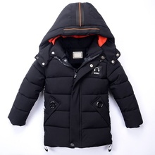 Winter Jackets for Boys Warm Kids Clothes Snowsuit Hooded