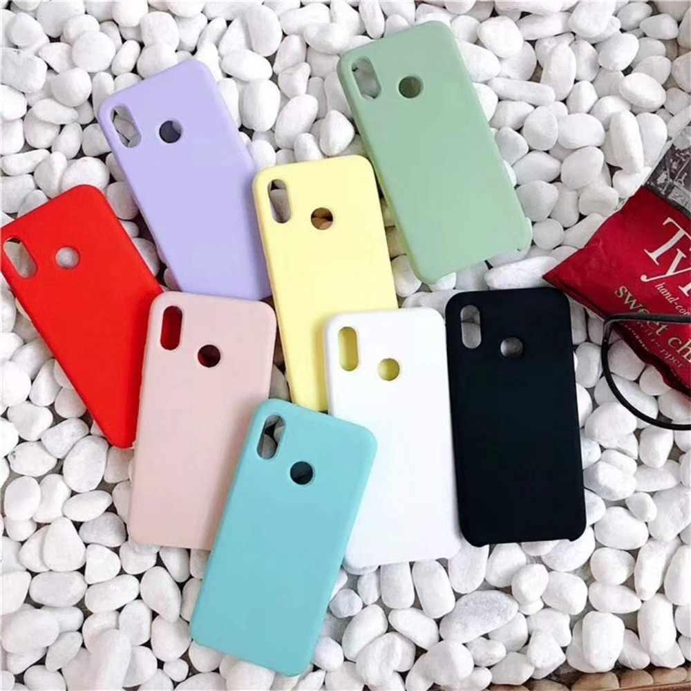Caso de telefone líquido original para xiaomi mi a2 lite mi 8 lite max 3 mix 2s 6 mi8 se capa de silicone para redmi nota 5 6 pro 6a