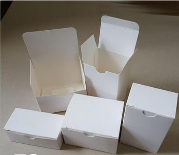 white cardboard box packaging hard paper boxes for gift  jewelry packaging boxes box