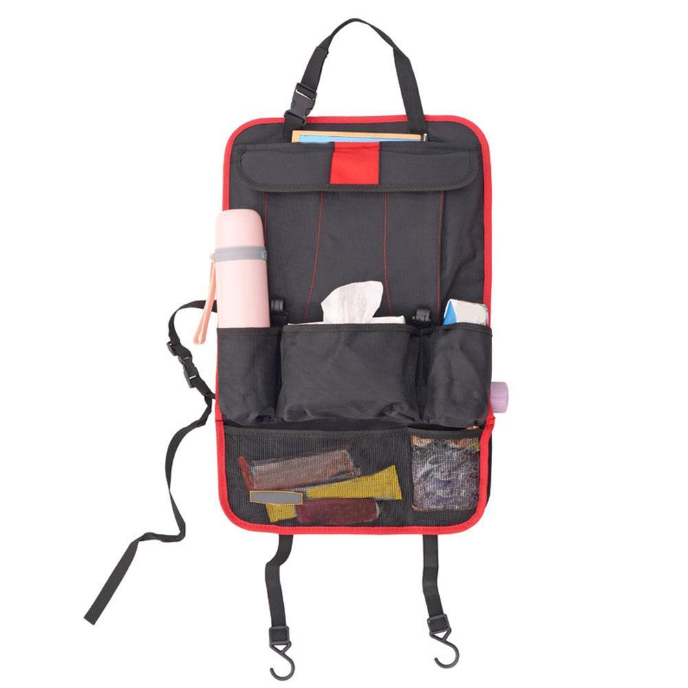 58x36cm Universal Car Seat Back Hanging Multi Pocket Storage Bag Organizer Pouch car seat organizer