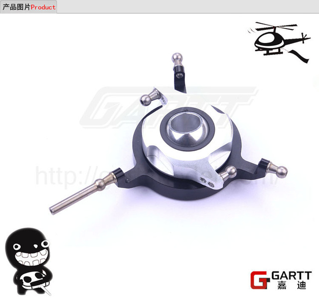 Ormino GARTT 700 Metal Swashplate Fits Align Trex 700 RC Helicopter gartt 500 dfc main totor head assembly fits align trex 500 rc helicopter hobby