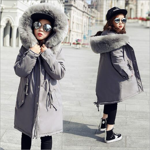2017 Girls Winter Jackets Children Coats Cotton Parkas Kids Winter Outerwear Thicken Warm Clothing Baby Girls Clothes korean baby girls parkas 2017 winter children clothing thick outerwear casual coats kids clothes thicken cotton padded warm coat